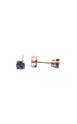 14k Rose Gold Tanzanite Stud Earrings C10068 product image