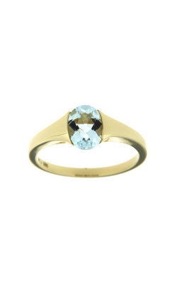 14k Yelllow Gold Aquamarine Ring SCR023-AQY product image