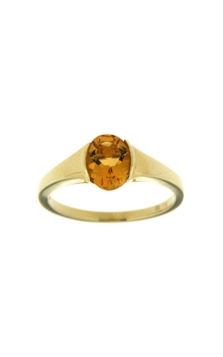 14k Yellow Gold Citrine Ring SCR023-CTY product image