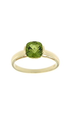 14k Yellow Gold Peridot Ring SCR030-PEY product image