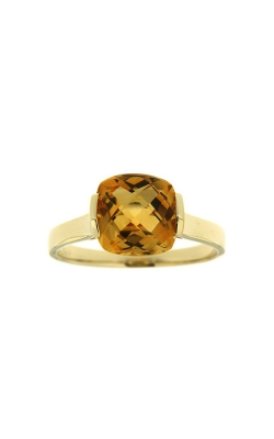 14k Yellow Gold Citrine Ring SCR036-CTY product image
