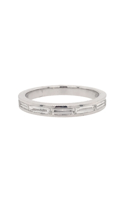 18k White Gold Baguette-Shaped Diamond Band G10027 product image