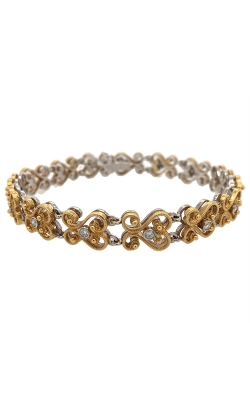 18k White And 22k Yellow Gold Mahklouf Diamonds Bracelet G10277 product image