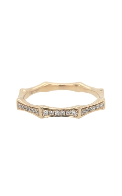 14k Yellow Gold Octagon-Shaped Band G10447 product image