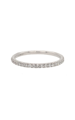 14k White Gold Wedding Band G10908 product image