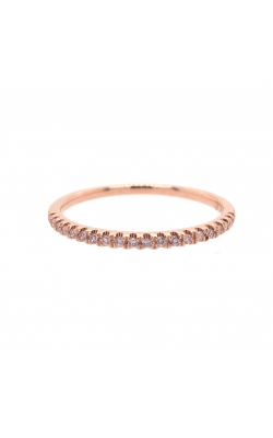14k Rose Gold Fancy Light Pink Diamonds Band G11177 product image