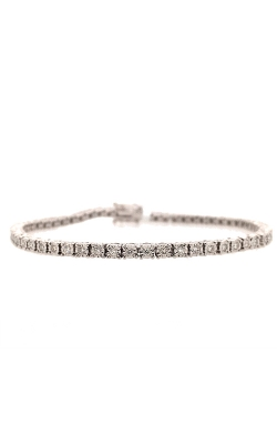 14k White Gold Tennis Bracelet G11415 product image