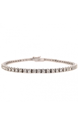 14k White Gold Tennis Bracelet G11417 product image