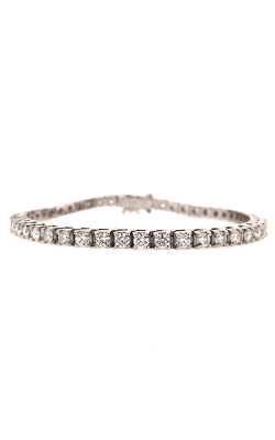 14k White Gold Tennis Bracelet G11423 product image