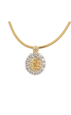 18k White And Yellow Gold Pendant With Yellow Diamonds G11445 product image