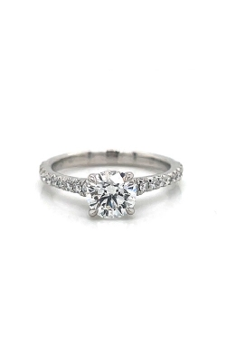 18k White Gold Solitaire Engagement Ring G11594 product image