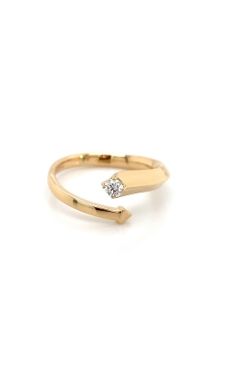 18k Yellow Gold Bypass Ring G12248 product image