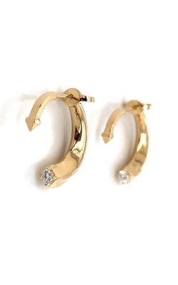 18k Yellow Gold Hook Earrings G12256 product image