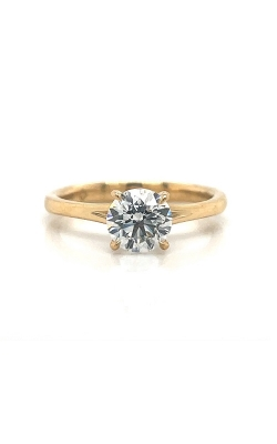 18k Yellow Gold Solitaire Engagement Ring G12410 product image
