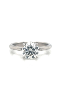 Platinum Solitaire Engagement Ring G12411 product image