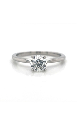 Platinum Solitaire Floating Engagement Ring G12412 product image