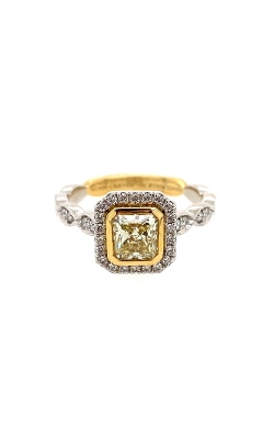 Platinum & 18k Yellow Gold Ring G3083 product image