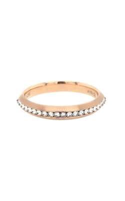 18k Rose Gold Reverse-Set Diamonds Band G6712 product image