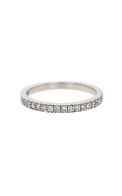 18k White Gold Wedding Band G8463 product image