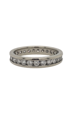 19k White Gold Channel-Set Eternity Diamonds Band G8471 product image