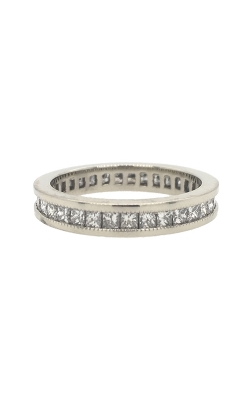 19k White Gold Channel-Set Eternity Diamonds Band G8473 product image