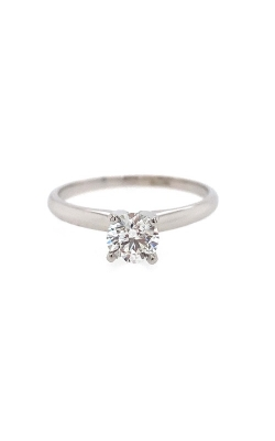 14k White Gold Engagement Ring G9031 product image