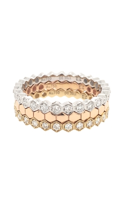 18k White, Yellow And Rose Gold Stackable Rings G9144 product image
