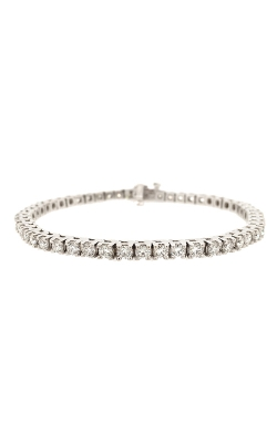 14k White Gold Diamonds Tennis Bracelet G9369 product image