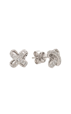 18k White Gold Diamond Stud Earrings G9551 product image