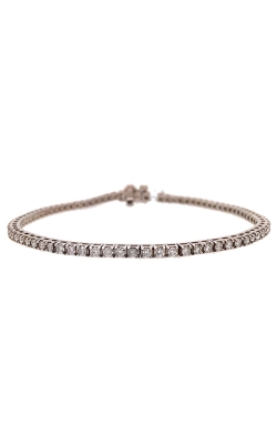 14k White Gold Diamonds Tennis Bracelet C10605 product image