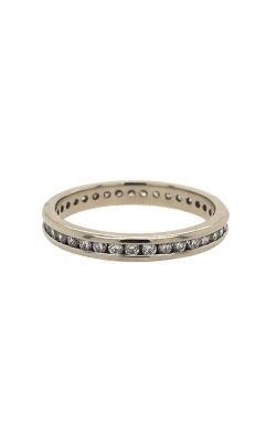 19k White Gold Diamonds Eternity Band C5375 product image