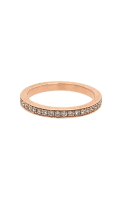 14k Rose Gold Diamonds Eternity Band G12027 product image