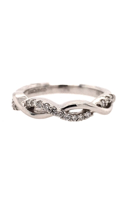 18k White Gold ArtCarved 'Gabriella' Band C5750 product image