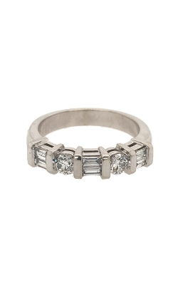 18k White Gold Channel-Set Diamonds Band G12077 product image