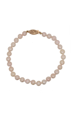 14k Yellow Gold Pearl Bracelet G11430 product image