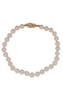14k Yellow Gold Pearl Bracelet G11431 product image